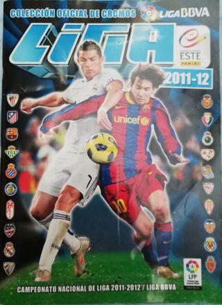 Álbum cromos de la liga bbva 2011-2012