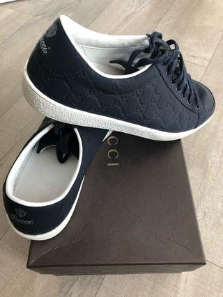 Zapatillas Gucci de segunda mano en la provincia de Barcelona en ... 9d3dd5a5d90
