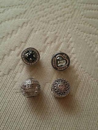 charms de plata para pulseras de pandora