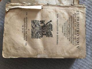 Libro antiguo año 1551