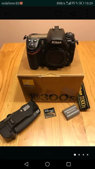 Camara profesional Nikon D300S + Grip + Accesorios
