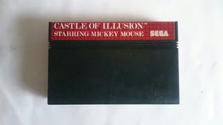 """ CASTLE OF ILLUSION "" Sega Master System"
