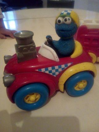 coche monstruo de las galletas