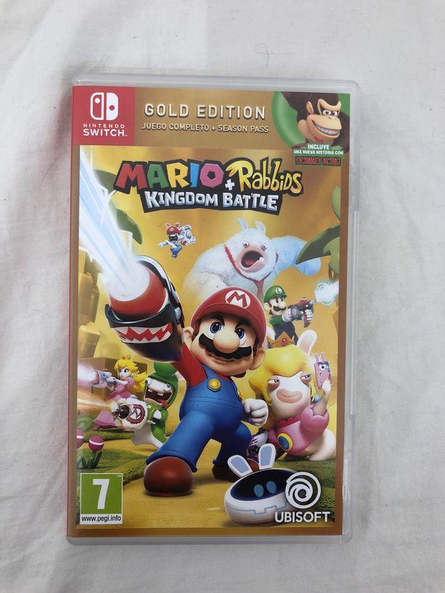 Juego Nintendo Switch Mario And Rabbits De Segunda Mano Por 40 En