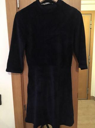Vestido terciopelo mujer talla s