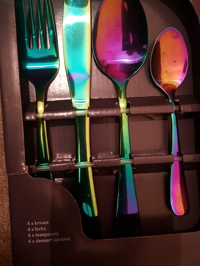 Cutlery Set (Stainless Steel)