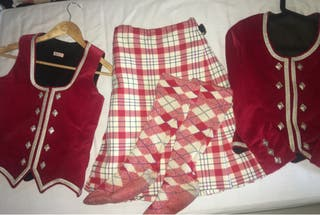 Red Highland Dancing Outfit Bundle
