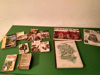 Libros y comic antiguos.