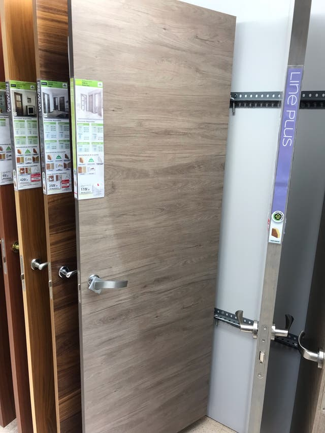 Puertas Interior Nuevas A Estrenar Color Madera De Segunda Mano Por
