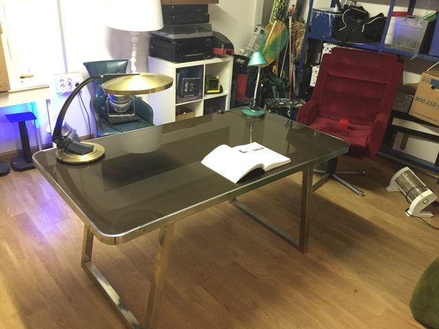 Mesa escritorio/comedor industrial de segunda mano por 250 € en ...