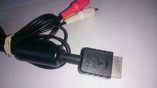 Cable Av PlayStation (ENVIO INCLUIDO)