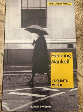 La Quinta Mujer de Henning Mankell