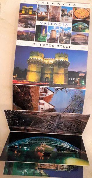 Librito de postales de Valencia