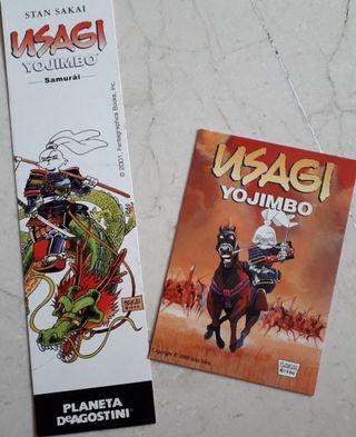 Postal y marca páginas - Usagi Yojimbo