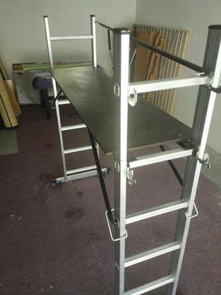 escalera andamio aluminio