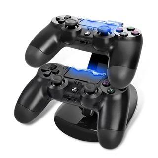 Base carga mandos PS4