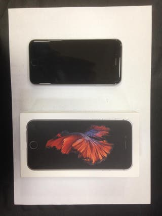 Iphone 6s gris espacial 64gb + accesorios
