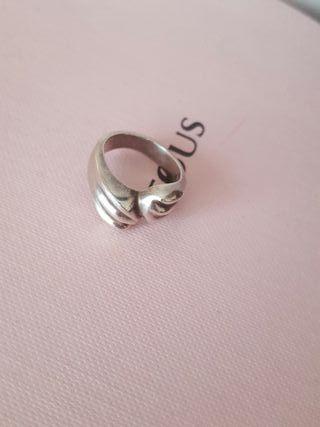 sortija anillo plata