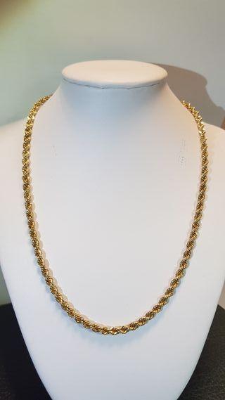 Cadena Cordón de oro amarillo 18K