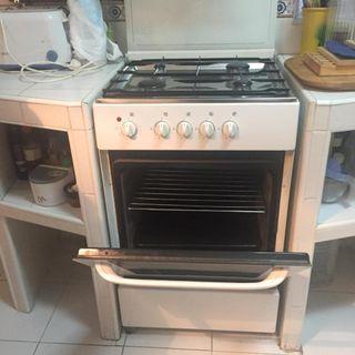Cocinas de gas con horno el ctrico de segunda mano en madrid en wallapop - Cocinas de gas industriales de segunda mano ...