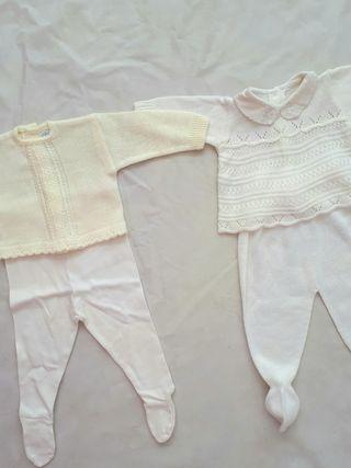 2 conjuntos 3-6 meses. ropa bebe niño