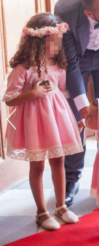vestido niña fiesta o zarra