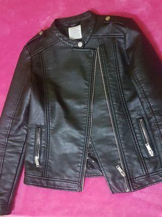 chaqueta negra de leftif