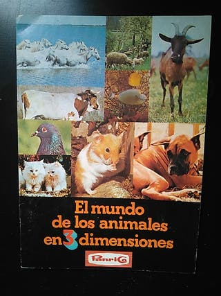 el mundo de los animales en 3 dinensiones