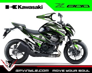 Kit Adhesivos Kawasaki Z800