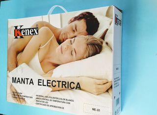 Manta Electrica 150 X 80.Manta Electrica Calienta Camas 150x80 Liquidacion De Segunda
