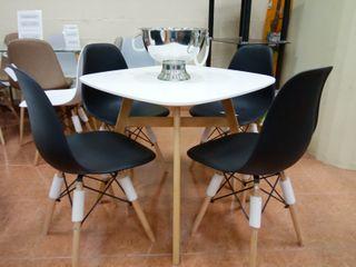 Comedor 4 sillas nordicos
