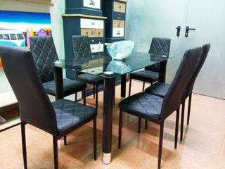 Comedor 6 sillas (komo)