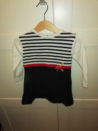 vestido lana tutto piccolo talla 18 meses