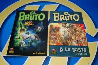 Lote de 2 Comics El BRUTO de Eric Powel. Norma
