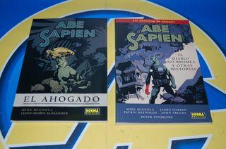 Lote de 2 Comics ABE SAPIEN 1 y 2. Norma Editorial