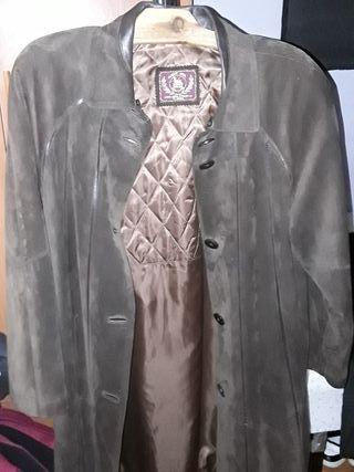 abrigo de señora de piel Hnos. RUIZ talla P