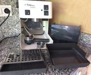 Bomba, depósito, botones, ... Cafetera Saeco