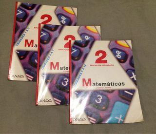 Matemáticas 2 ESO ED ANAYA