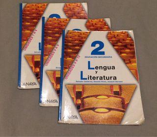 Lengua y literatura 2 ESO ANAYA