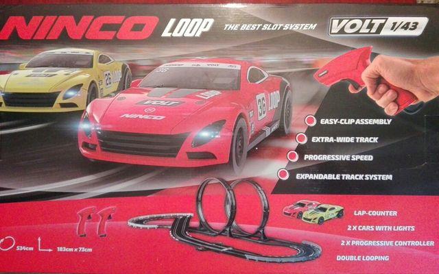 Circuito scalextric Ninco..1/4..2 coches de regalo