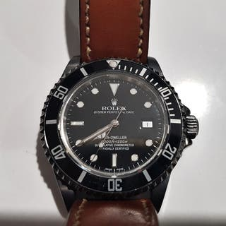 Rolex Sea-Dweller 16600 DLC PVD negro