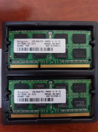 Apple Macbook Pro RAM Kingston 1333Mhz