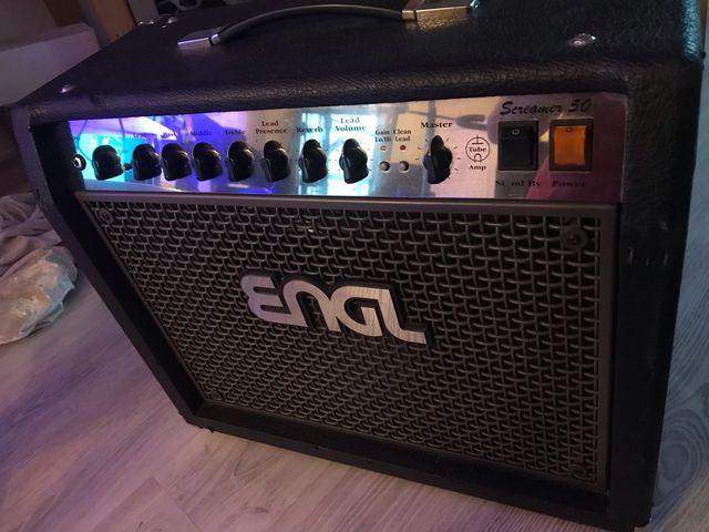 ENGL Screamer 50w combo con pedalera z5