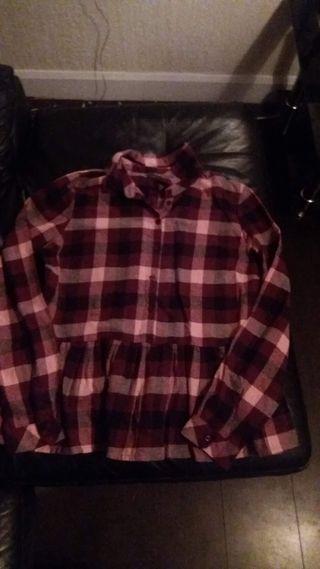 Ladies Size 14 Boyfriend Shirt