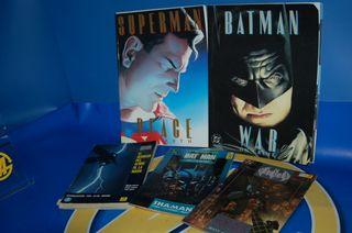 Cinco comics DC -Batman El regreso del señor Y MAS