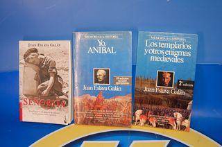 Lote de 3 Libros - JUAN ESLAVA GALAN-OBSERVA