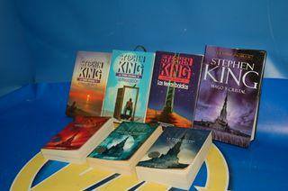 Lote 7 Libros -LA TORRE OSCURA de Stephen King