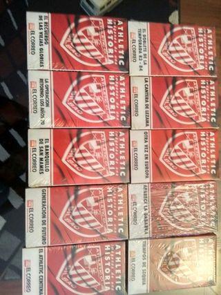 OCASION 10 VHS ATHLETIC CLUB DE BILBAO Y TRES PINS