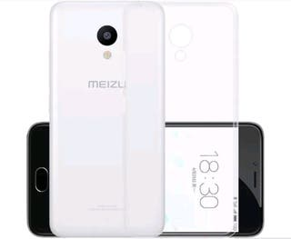 Funda tpu silicona transparente Meizu m5s