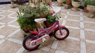 Bicicleta de niña hasta 5 años